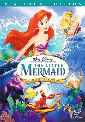 The Little Mermaid (DVD, 2006, 2-Disc Set, Platinum Edition) by Unknown (Image #1)