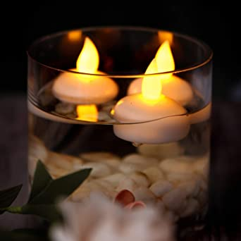 Amazon Com Waterproof Flameless Floating Candles Floating