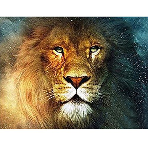 JynXos Paint by Numbers for Adults, Kids - Lion Head 16x20