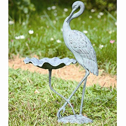 Spi Home Crane - SPI Home Crane Birdbath Heron Birdfeeder