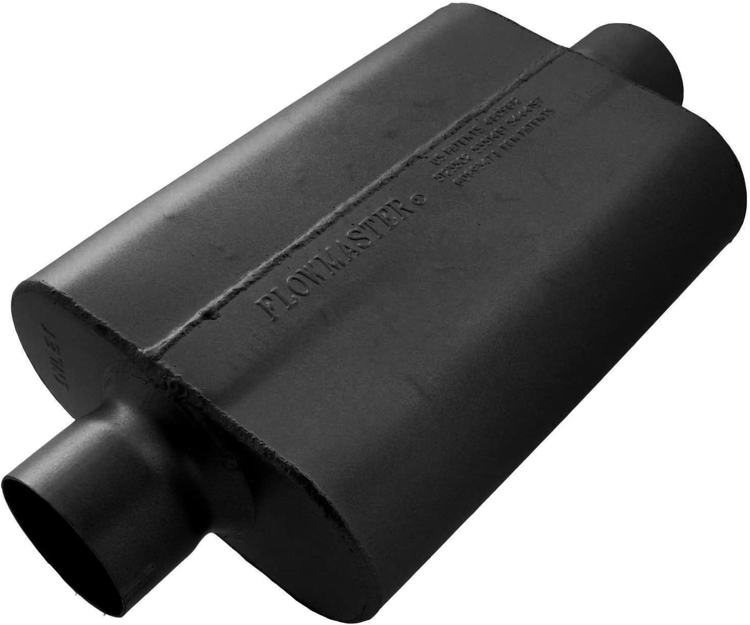B0002Z9NRE Flowmaster 943040 40 Delta Flow Muffler - 3.00 Center IN / 3.00 Center OUT - Aggressive Sound 61-28UkrdsL.SL1500_