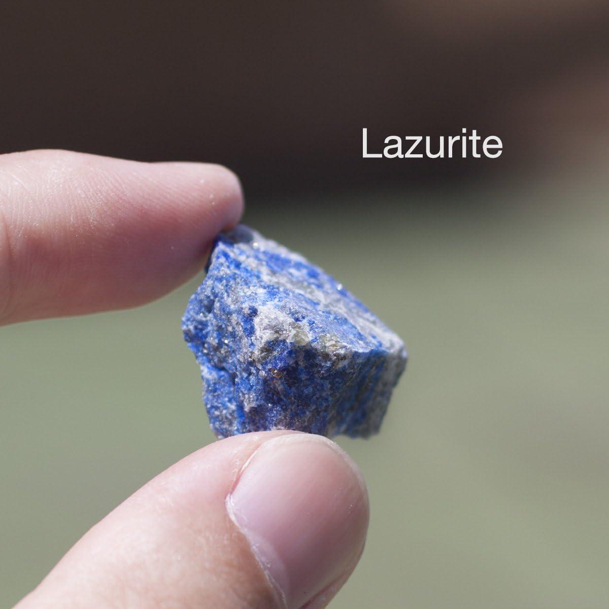 Chillipepperstone - Juego de 12 Piedras minerales Naturales sin ...