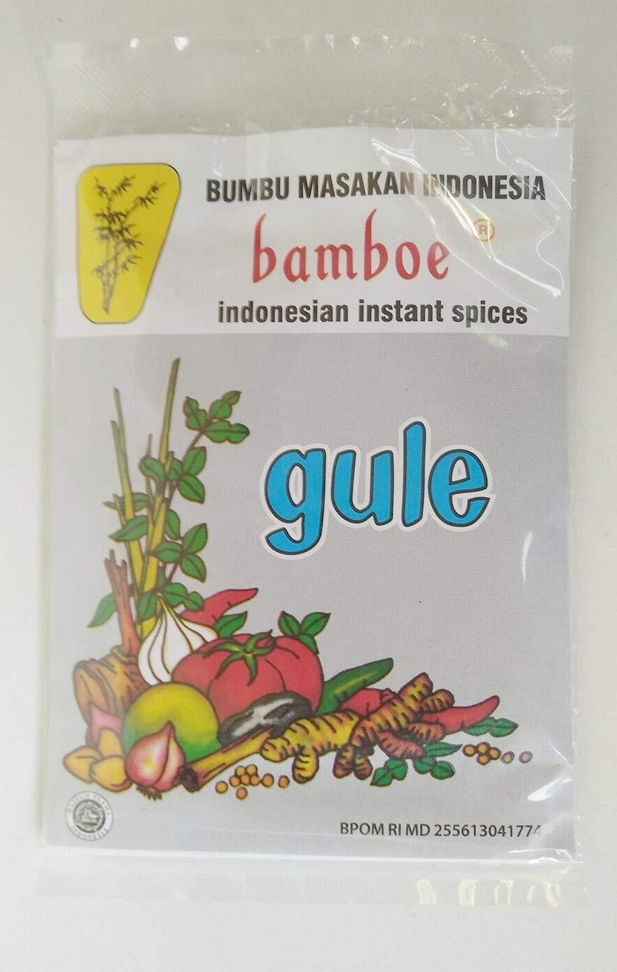 Bamboe Bumbu Instant Gule (local packaging), 35 Gram (Pack of 24)
