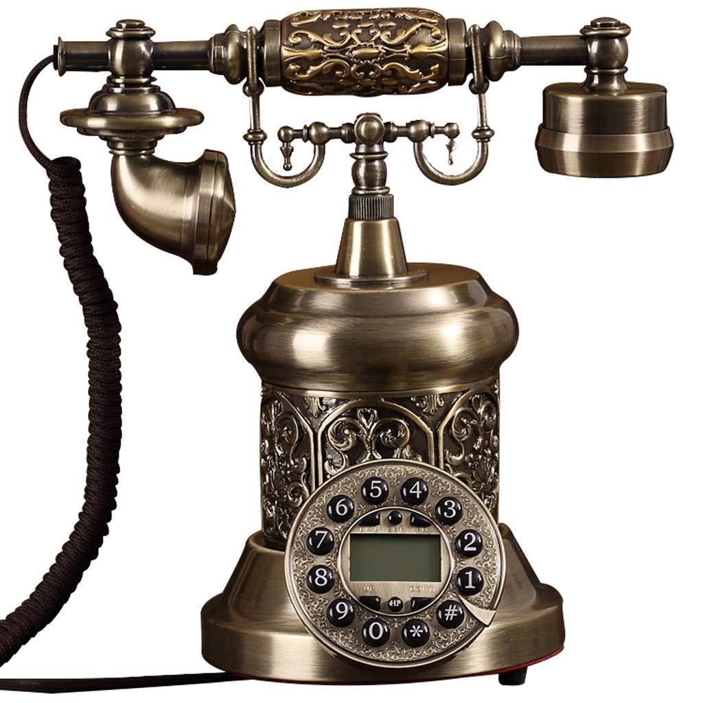 古典的なスタイルの回転式ダイヤル電話家およびオフィスの装飾、から選ぶべき多様なスタイル (三 : A) B07JFCZ775 C
