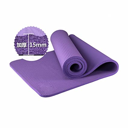 Amazon.com : GTVERNH-Widen the 80 cm thick 15mm long yoga ...