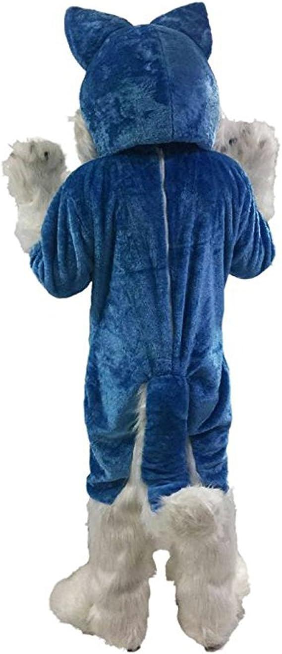 Amazon.com: mascotshop azul lobo perro de Husky mouse de ...