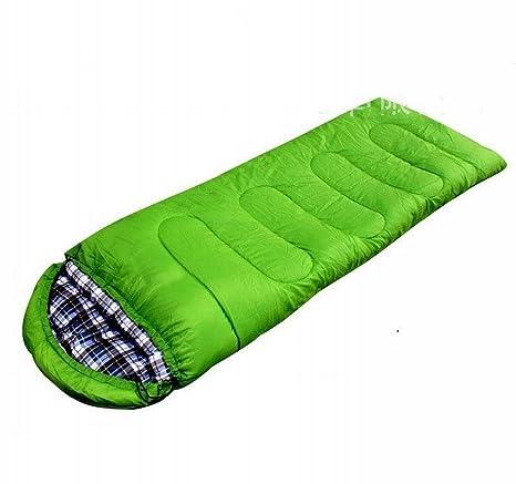 Sobres de Camping Al Aire Libre Sacos de Dormir con una Almohada de Sombrero Otoño E