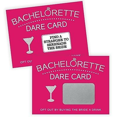 Bachelorette Dare Card Party Game