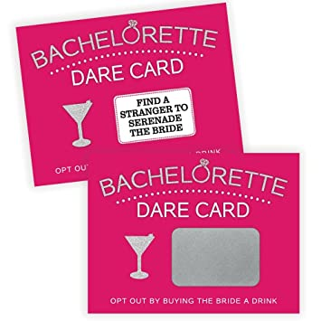 Bachelorette Dare Card Party Game Girls Night Out 20 Scratch Off Cards