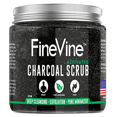 Activated Charcoal Face Scrub - 2