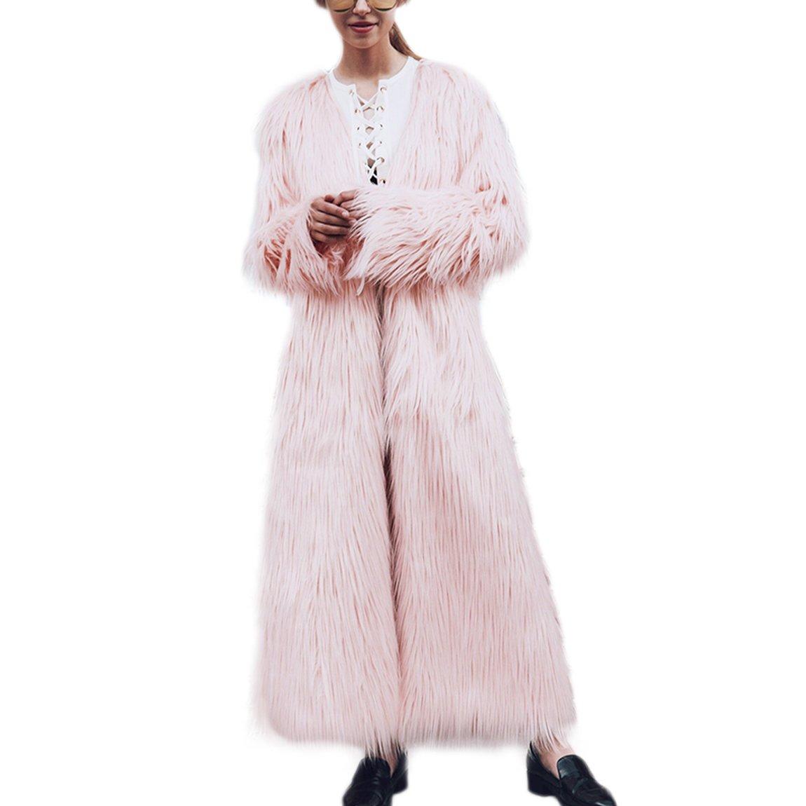 Damen Fellmantel Winterjacke Trenchcoat Steppjacke Wä rmemantel Parka Coat Ü bergangsjacke Outwear