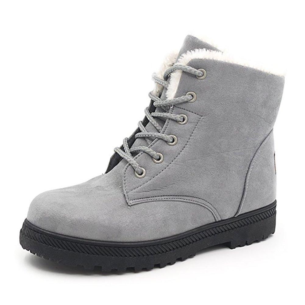 Wicky LS de esquí para mujer piel botas de nieve caliente Zapatillas zapatos de plataforma SQL