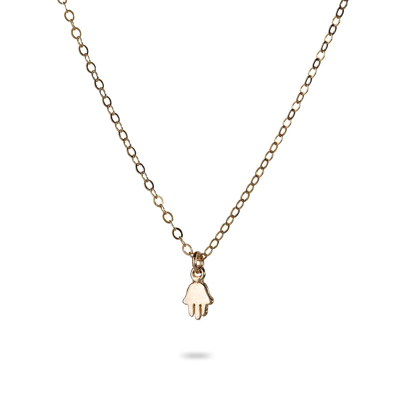 Necklace with a Hamsa pendant