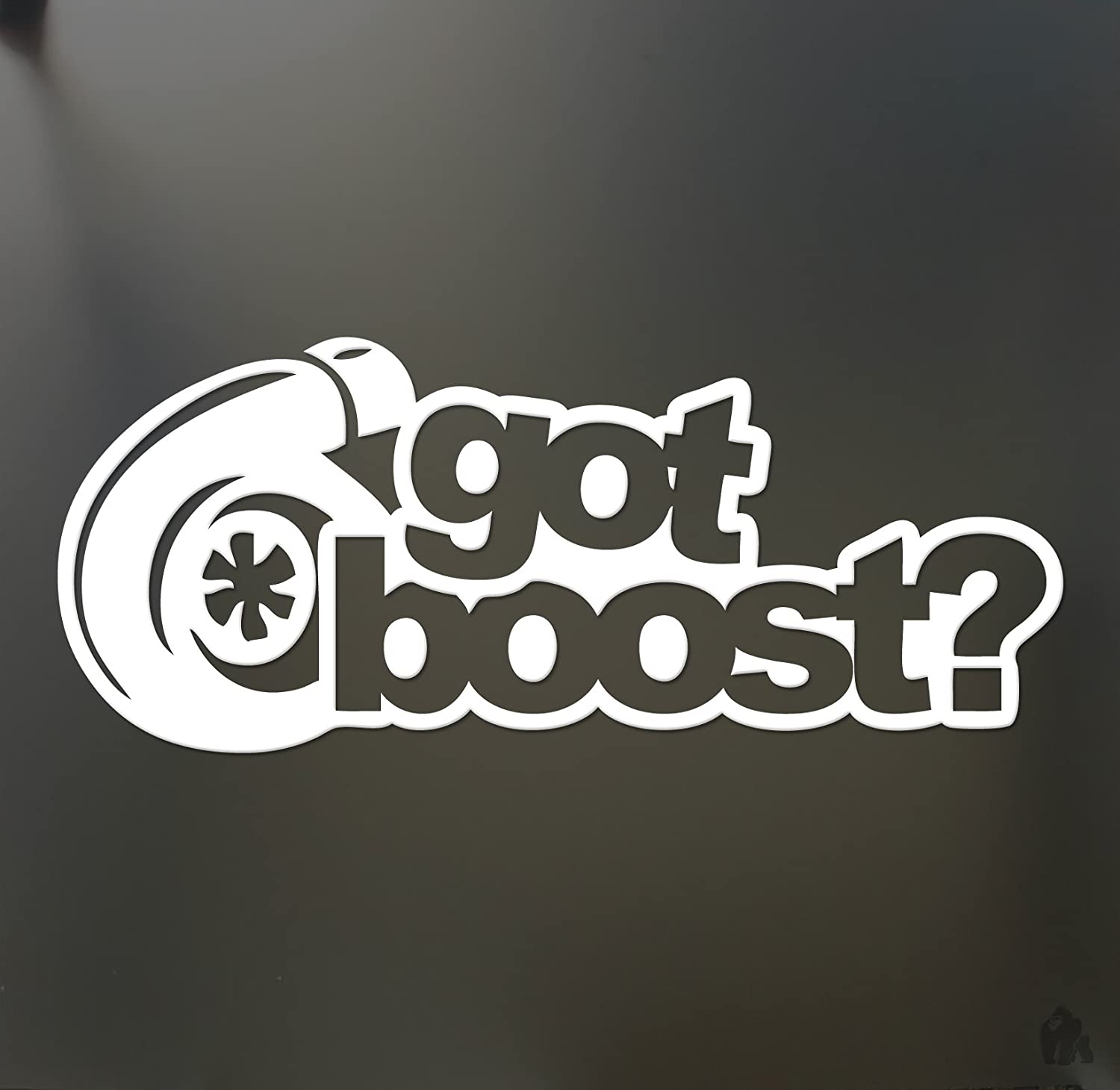 Amazon.com: got boost? sticker turbo JDM slammed Funny drift lowered car WRX window decal: Automotive