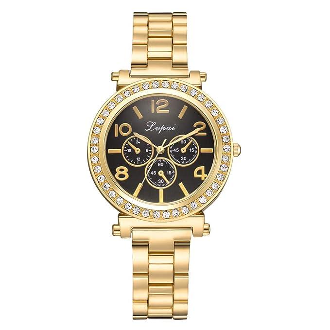 Reloj para Mujer,BBestseller Reloj de Cuarzo de Moda Casual de Las Mujeres Relojes de