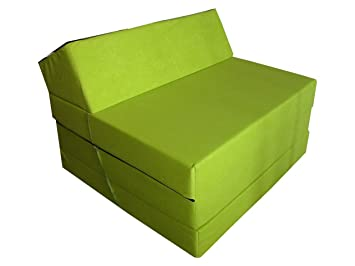 Natalia Spzoo El sillón de colchón Plegable para Invitados con Forma de sillón sofá Cama Plegable con colchón de la Cama: Amazon.es: Hogar