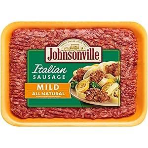 Johnsonville, Mild Italian Ground Sausage, 16 oz (Frozen)