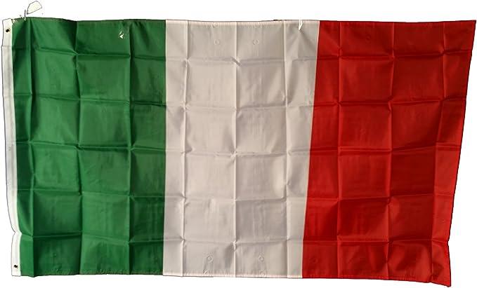 Bandera de Italia, 150 x 90 cm: Amazon.es: Hogar