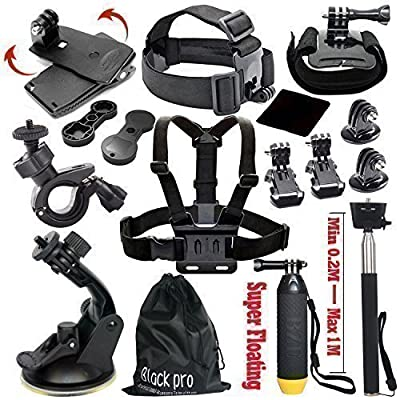 Black Pro Basic Common Outdoor Sports Kit (13 Items)
