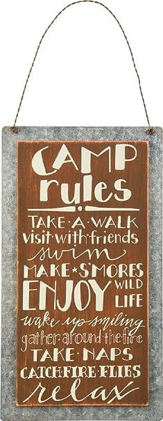 Sweet Camping Hanger Decor