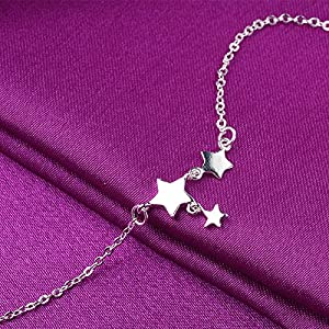 LAMEIDA Lovely Bracelet Simple Design with Little Star Pendant Jewelry Accessories For Women Girls Birthday Festival…