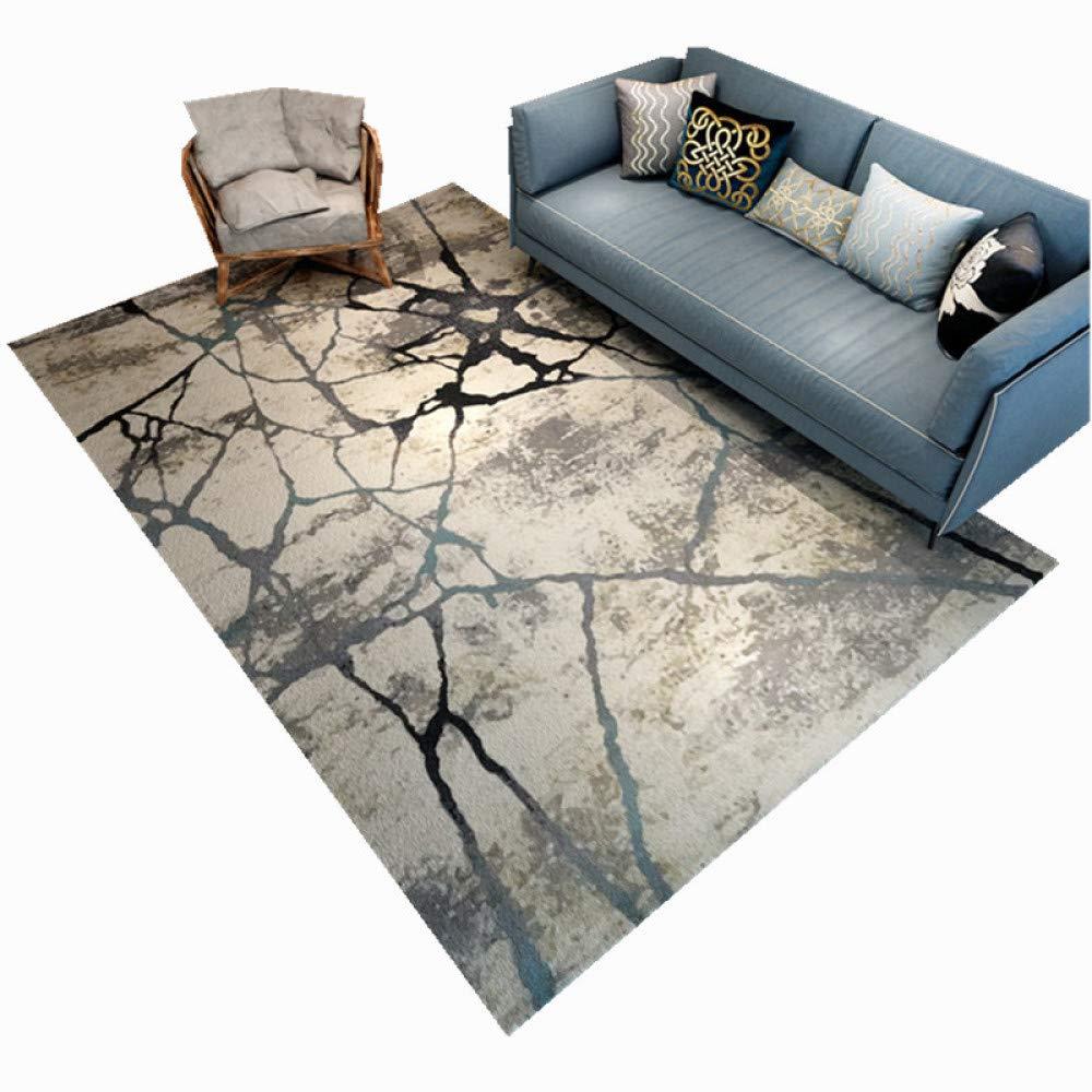 JIA HONG Moderne Abstrakte Unbedeutende Unbedeutende Unbedeutende Teppichwohnzimmertisch Rutschfeste Starke Gedruckte Hauptbodenmatte,A1(160  230cm) B07M6YQ3ZP Duschmatten 4c41a3
