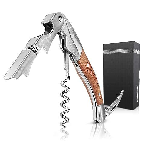 Amazon.com: Abrebotellas eléctrico de acero inoxidable con ...