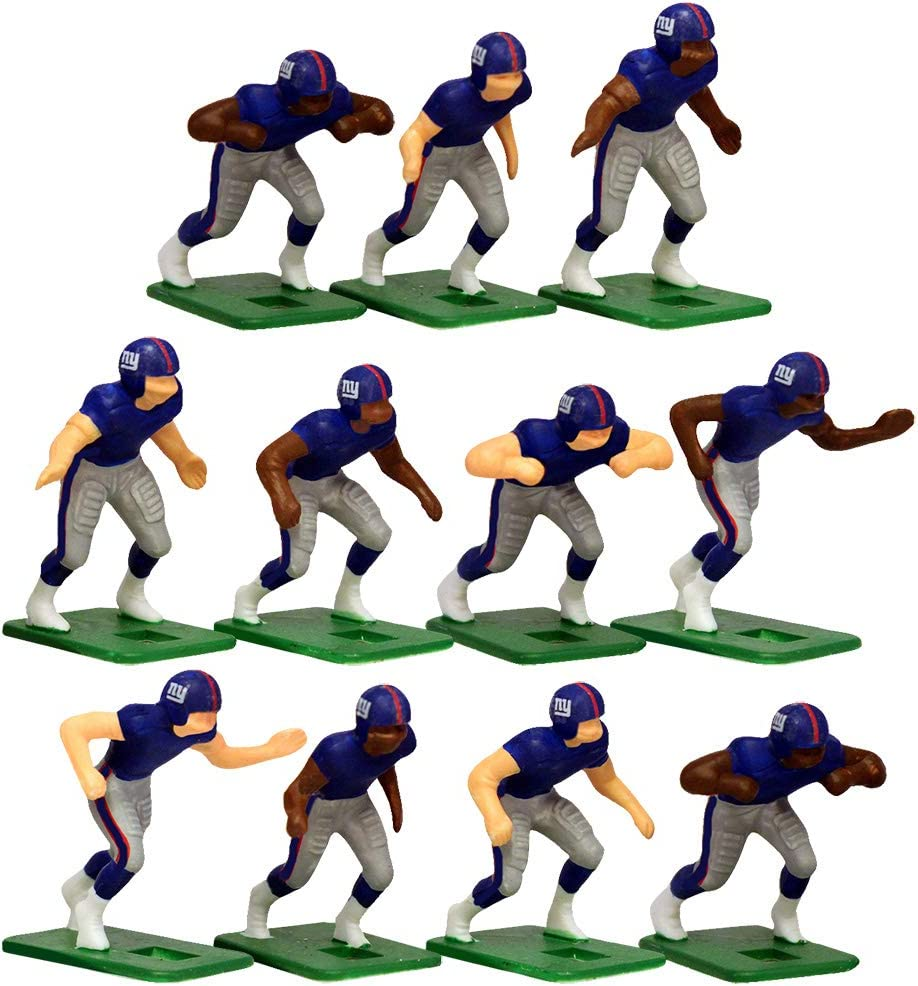 New York Giants Home Jersey NFL Action Figure Set