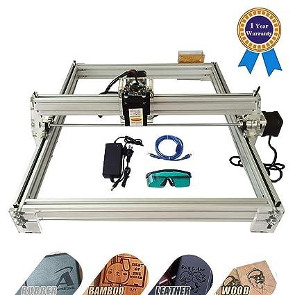 HUKOER 40X50 CM Kits de grabador láser CNC de bricolaje Máquina de grabado láser de escritorio