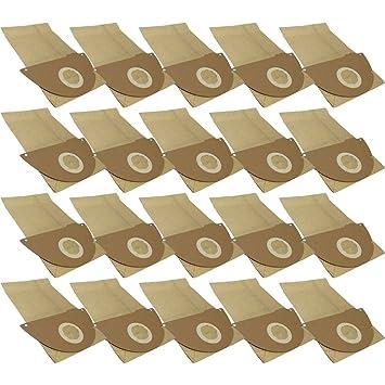 30 Bolsas de papel para aspiradoras Kärcher A 2101, 2111 20 ...