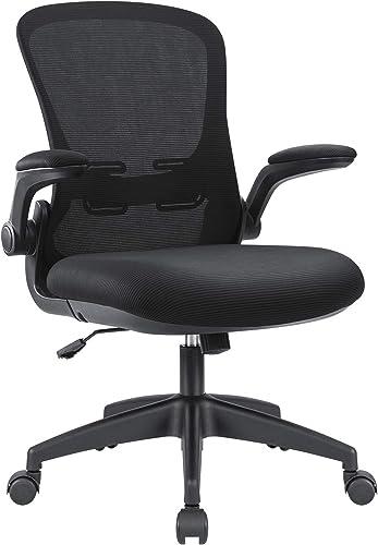 Devoko Office Desk Chair Ergonomic Mesh Chair Lumbar Support