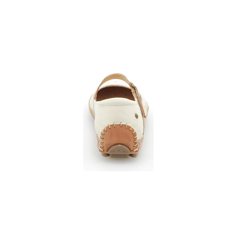 Pikolinos 578 – 7442 Steingrau flach Gurt Laser Steingrau 7442 c65925