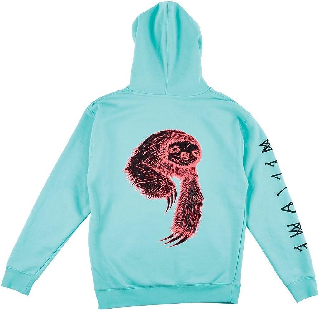 Mint WELCOME Skateboards Sloth Hooded Sweatshirt