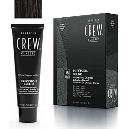 American Crew - American Crew Classic 2-3 Scuro 3X- Linea Precision Blend   Amazon.it  Bellezza 3016e48a67a