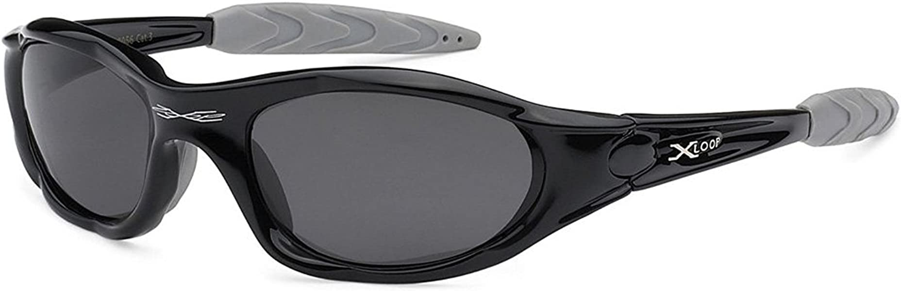 58b8d019ac96 X-loop Polarized Mens Action Sports Fishing Sunglasses - Several Colors  (Black)