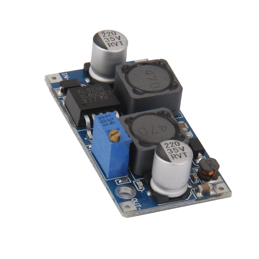 DC-DC 5V-32V to 1.25V~35V 9V 12V Stable Voltage Regulator Power Supply Module