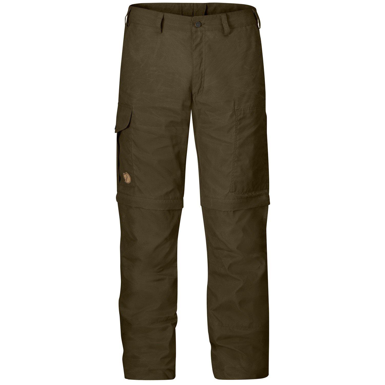 Karl Zip-Off Trousers Gr. 50, Dark Olive