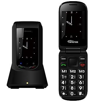 YINGTAI - T10W 3G Telefono Móvil Libre para Mayores Teclas Grandes: Amazon.es: Electrónica