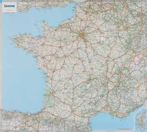 Carte Plastifie Roule France. (Anglais) Carte – Illustré, 24 janvier 2006 Collectif Michelin 2067119850 TRAVEL / Europe / France Gazetteers & Maps)