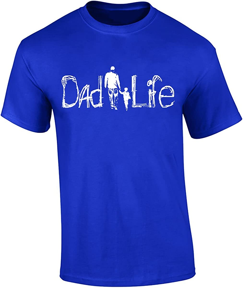 DadLife Brand On Dad's Shoulders Shirt, Short Sleeve