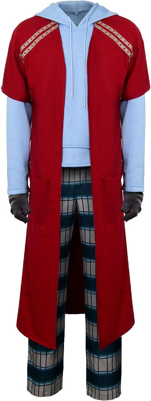 NUWIND Homme Fat Thor Cosplay Costume D/écontract/é Sweat /À Capuche Long Pantalon De Pyjama Costume Halloween Party Outfit