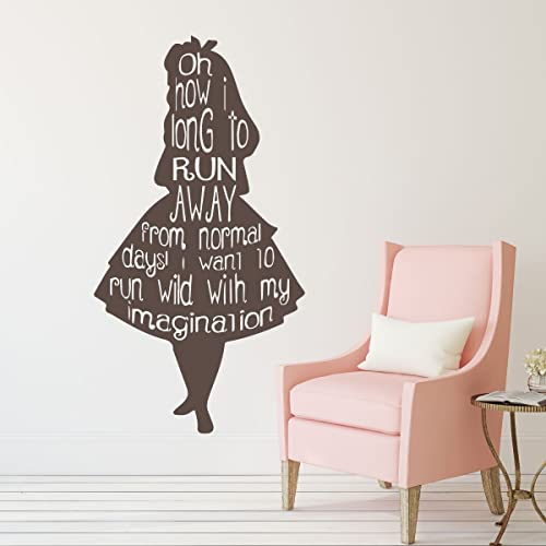 Charmant Alice In Wonderland Wall Decals And Decor For Home And More