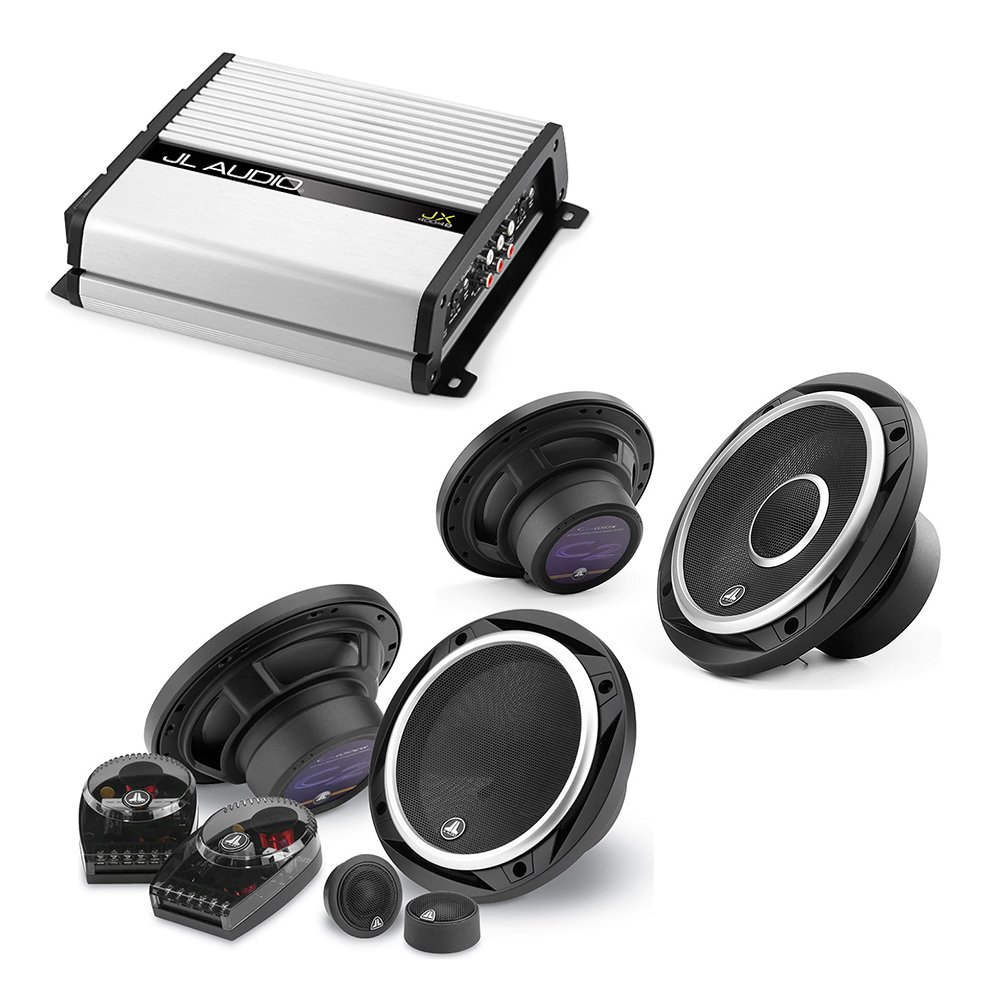 JL Audio JX400/4D 4-channel car amplifier 70 watts RMS x 4 + C2-650 450W 6.5'' 2-Way Evolution C2 Series Component Car Speakers System +C2-650x 450W 6.5'' 2-Way Evolution C2 Series Coaxial Car Speakers