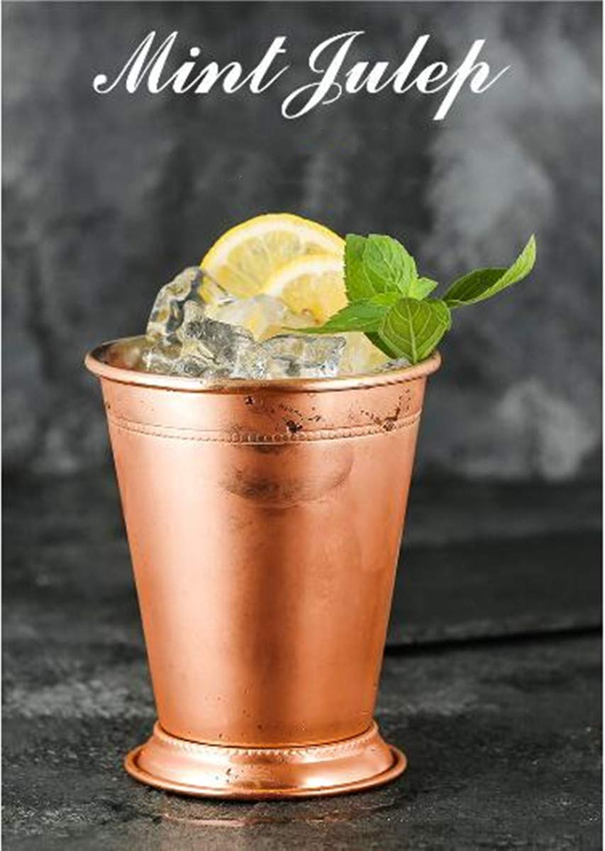 Mint Julep Cup, Stainless Steel Moscow Mule Mug Vintage Cocktail Drink Cup 14oz / 400ml
