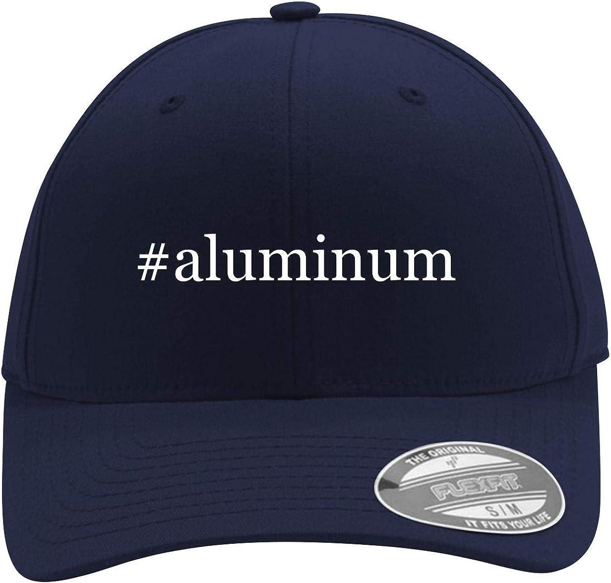 #Aluminum - Men's Hashtag Flexfit Baseball Cap Hat 61-2PkRcxbL