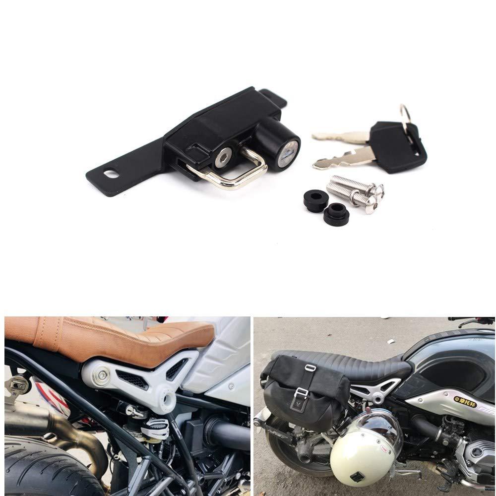 GUAIMI Motorcycle Helmet Lock Right Side for BMW R Nine T 2014-2017 R Nine T Scrambler 2014-2017