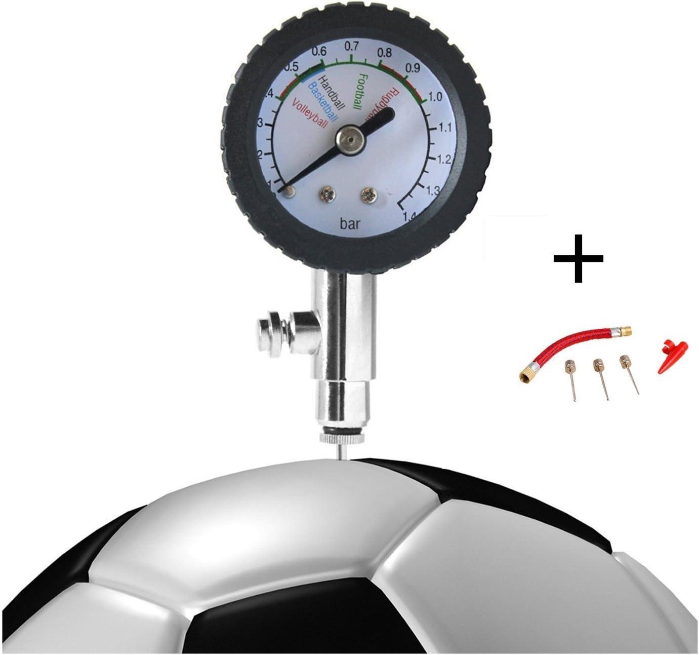 HNJZX - Medidor Digital de presión para balones de fútbol ...