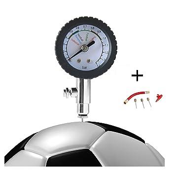 HNJZX Medidor digital de presión para balones de fútbol, voleibol, baloncesto, balones de