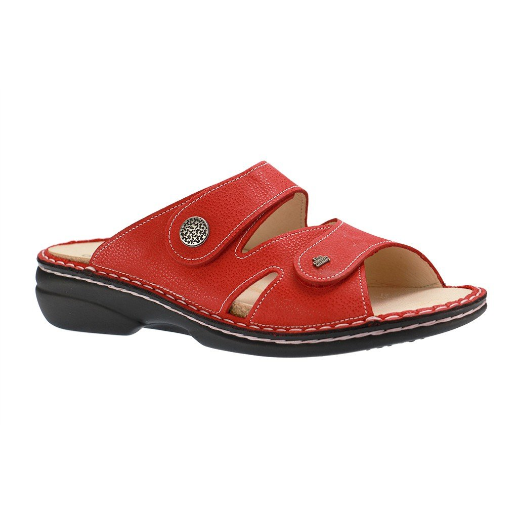 Finn Comfort - Zuecos para mujer Rojo rojo 41 UE Rojo - rojo