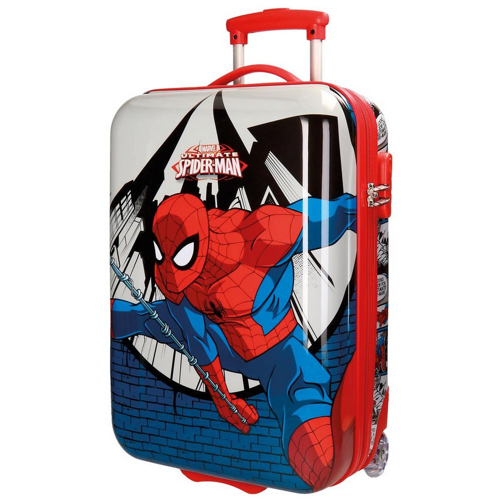 Spiderman Comic Kindergepäck, 55 cm, 34 liters, Mehrfarbig (Multicolor)